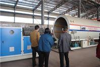 硬质聚氨酯喷涂聚乙烯缠绕直埋保温管设备