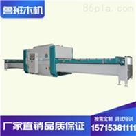 山東魯班木工機械手拉箱半自動真空覆膜機