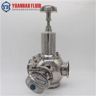 衛生級不銹鋼液體快裝減壓閥