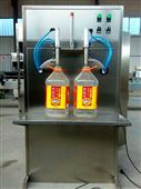 玻璃水防冻液灌装机,双头型鑫儒奕防滴漏