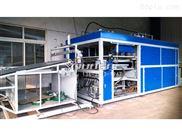冷卻塔導流板全自動吸塑機 淋水片薄片吸塑成型機 操作圖片