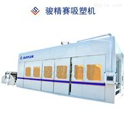 空濾進氣管生產商家 通風管吸塑機 管道制造設備高清圖