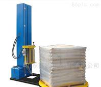 自动玻璃瓶缠绕膜托盘包装机