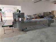 武漢呂工牌4口桶裝方便面自動封口壓蓋機