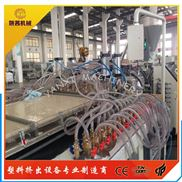 塑料板材设备_防火中空PVC板材生产线设备