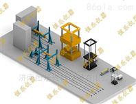高铁承载反力架作动器