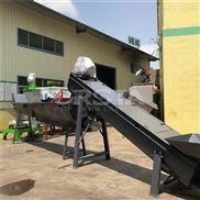 HDPE胶头粉碎清洗造粒生产线