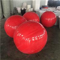 直径80厘米海上浮球滚塑塑料浮漂参数