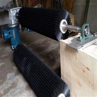 电动滚刷清扫器 输送机清理毛刷 皮带清扫机