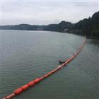 沙河水库浮式拦污排垃圾导漂排装置