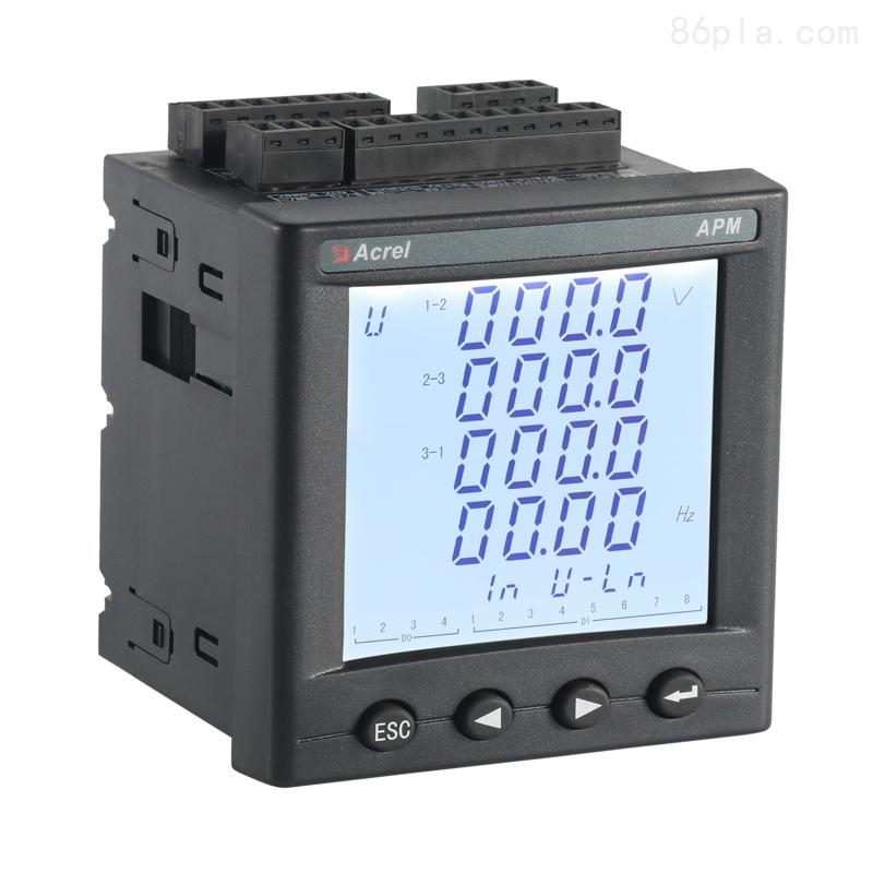 APM810三相多功能电表 带SD卡