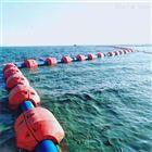 海上夹管塑料浮筒高强度聚乙烯浮体颜色
