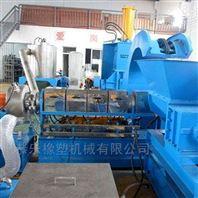 徐州恭乐塑料造粒机化纤废布回收造粒设备
