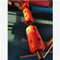 两半式管道连接浮筒