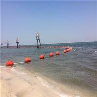 水库警示用浮标 水源地警示围栏浮标
