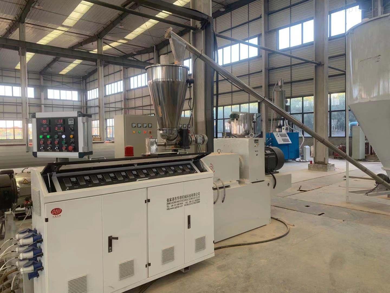 张家港CPVC电力管挤出机排水管生产设备