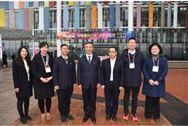 中国塑协代表团参观2019韩国国际塑料及橡胶展