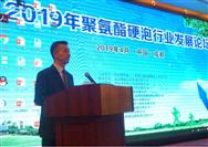 中国塑料加工工业协会理事长在2019聚氨酯硬泡行业发展论坛上的讲话