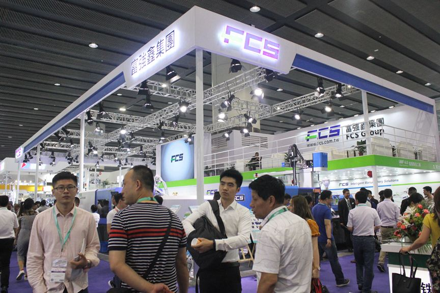 富强鑫35周年:FB-280R系列双色注塑机亮相琶州展馆
