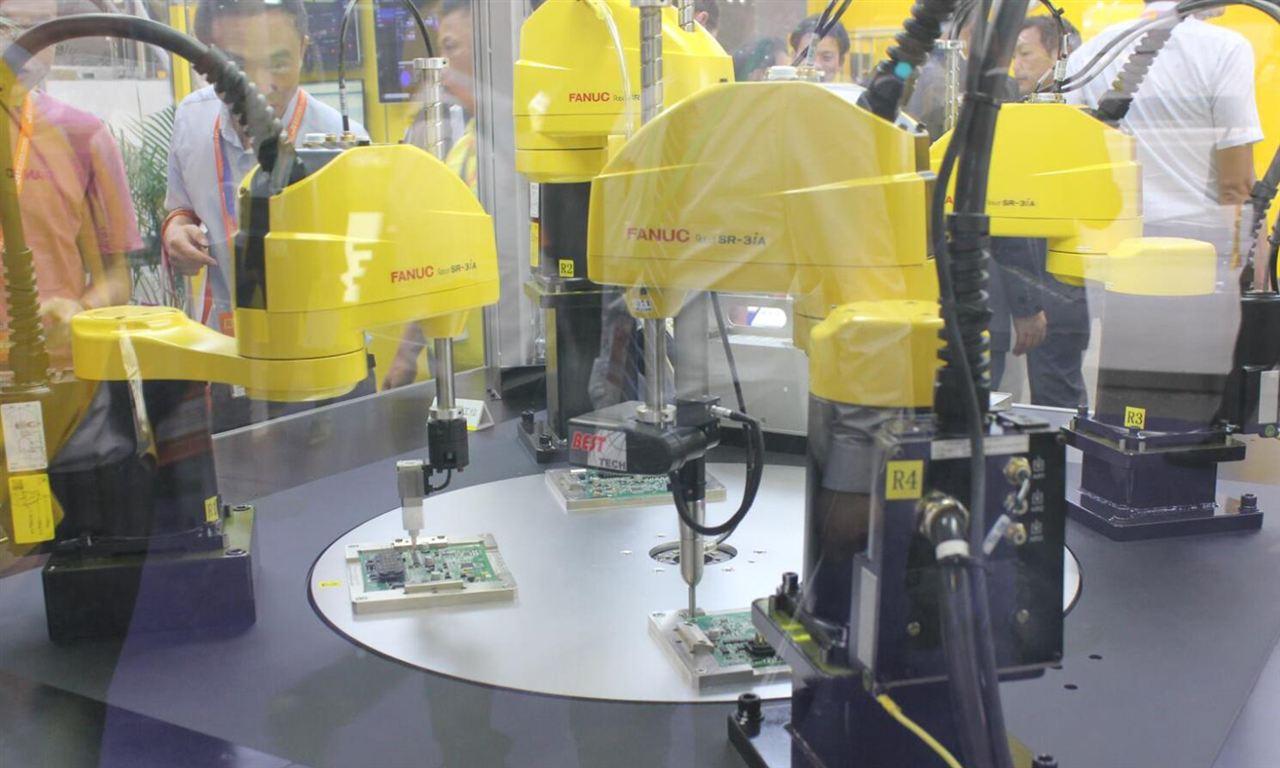 中國工業機器人還有多長的路要走?