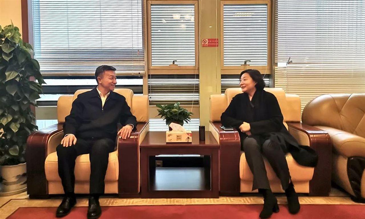 全面提升展会服务水平,朱文玮理事长带队赴南京对接工作