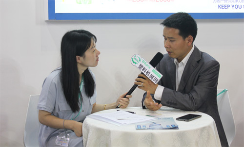 2019国际橡塑展专访:飞鸽友联总经理谢明飞